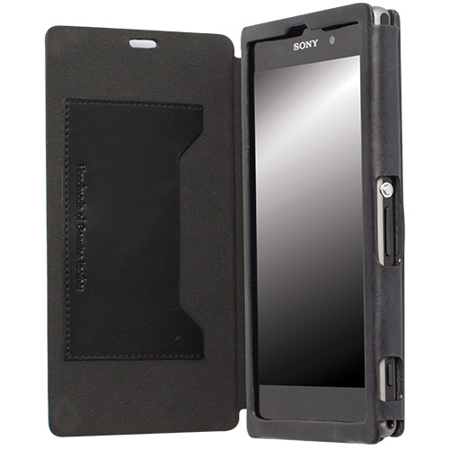 krusell flip cover case handy tasche f r sony xperia z1. Black Bedroom Furniture Sets. Home Design Ideas