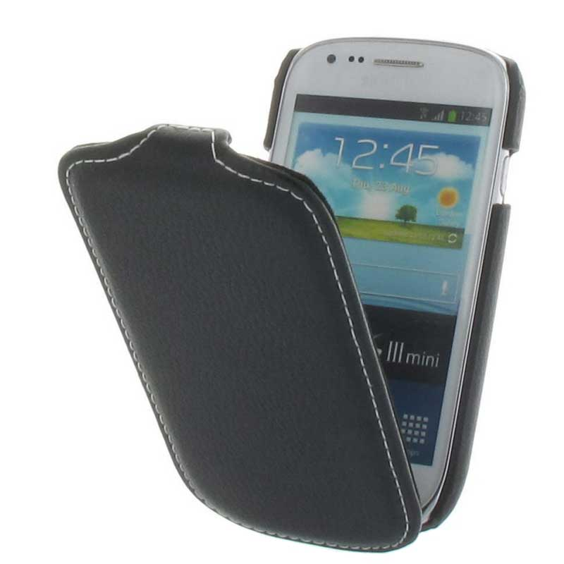 handy tasche case flip samsung galaxy s3 mini i8190. Black Bedroom Furniture Sets. Home Design Ideas