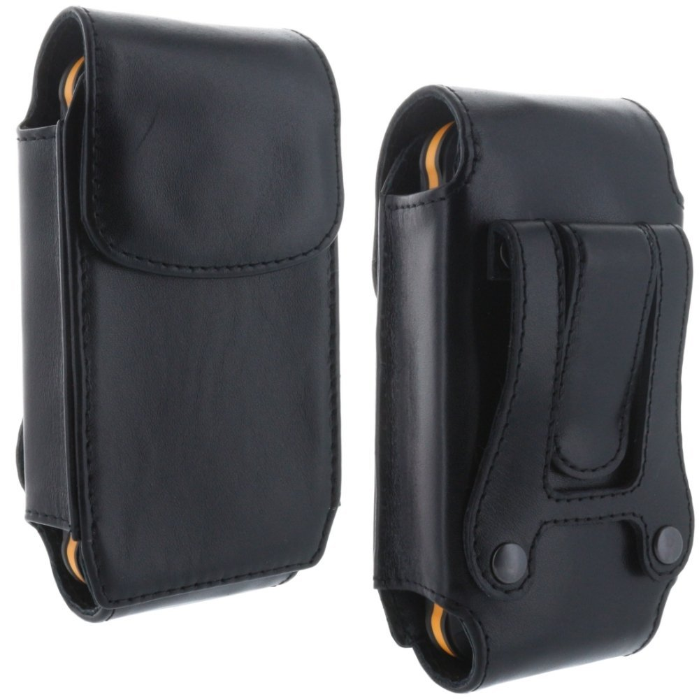 echt leder holster handy tasche f r cat b15 b15q b25 b100 schutz h lle etui ebay. Black Bedroom Furniture Sets. Home Design Ideas
