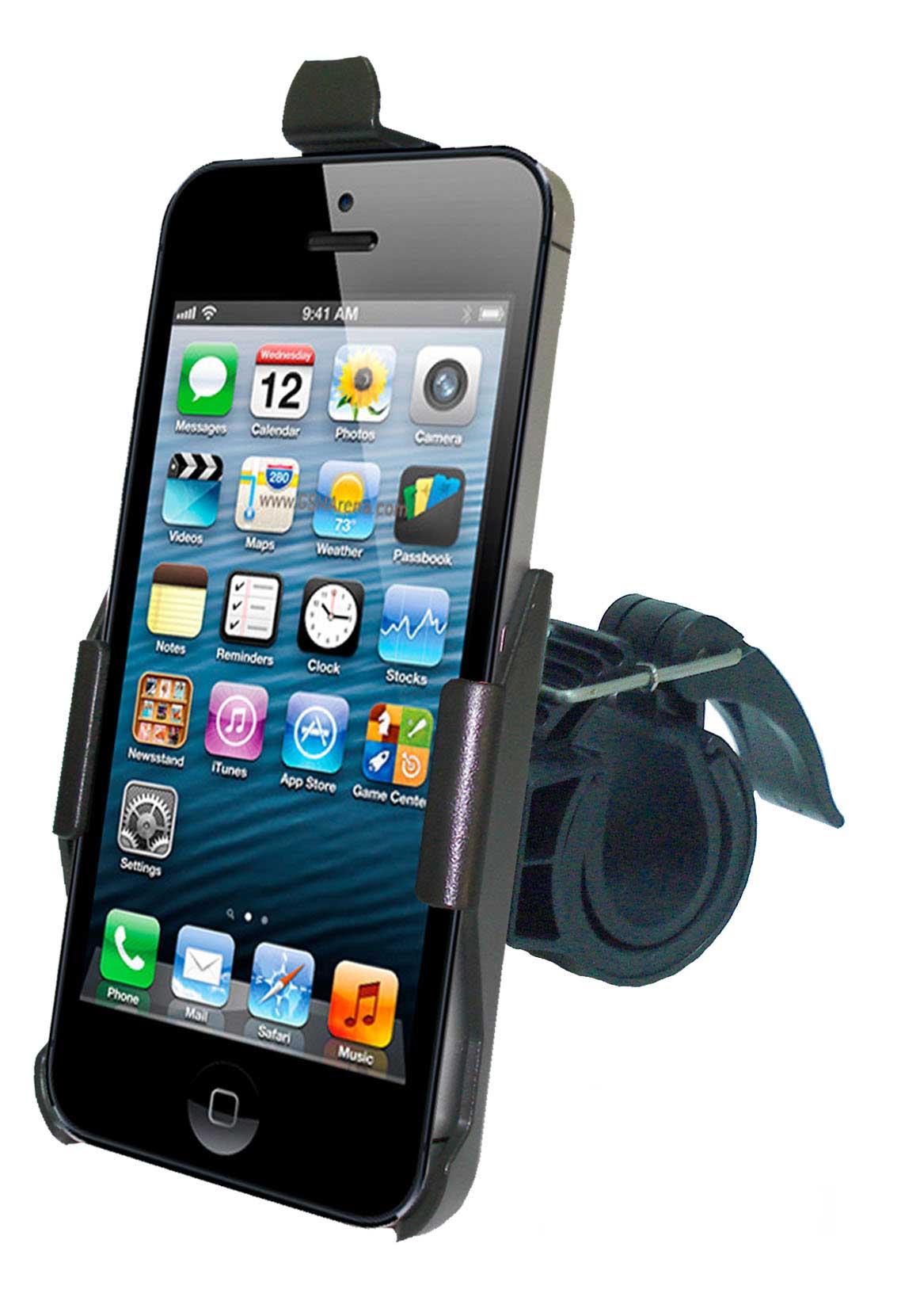 haicom fahrrad halter halterung f r apple iphone 5 bike. Black Bedroom Furniture Sets. Home Design Ideas